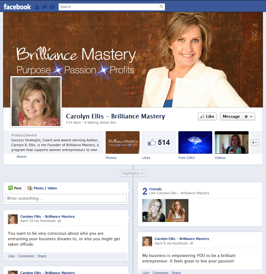 Carolyn ellis facebook solamar agency full service for Full service design agency