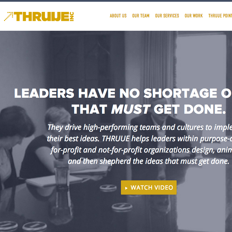 thruue-website