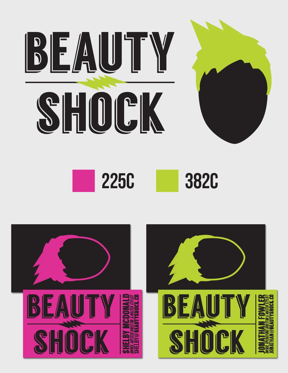beautyshock branding