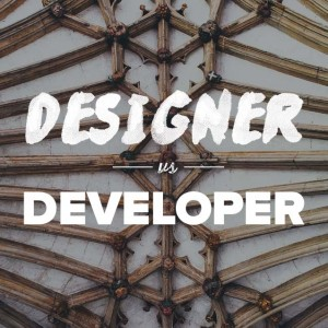 designer vs developer
